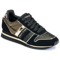 Zapatos Mujer Zapatillas bajas Versace Jeans LETRE Negro / DORADO