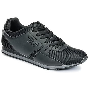 Zapatos Hombre Zapatillas bajas Versace Jeans DEGI Negro
