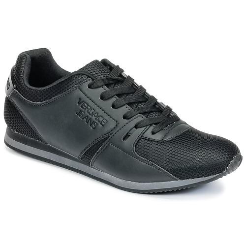 Zapatos especiales para hombres y mujeres Versace Jeans DEGI Negro