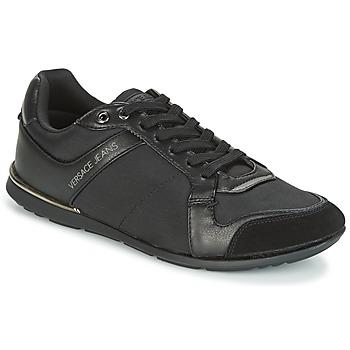 Zapatos Hombre Zapatillas bajas Versace Jeans TERU Negro