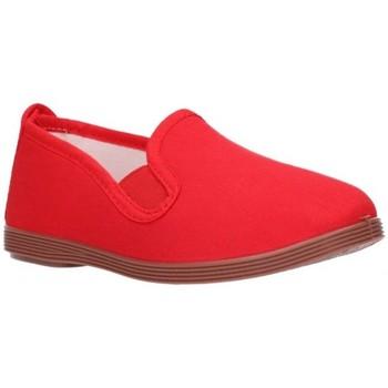 Zapatos Niño Bailarinas-manoletinas Potomac LONAS NIÑOS - rouge
