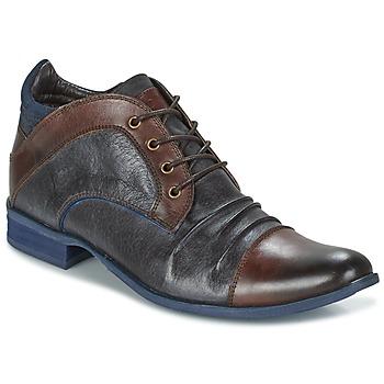 Zapatos Hombre Botas de caña baja Kdopa HELSINKI Marrón / Azul