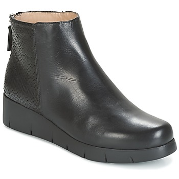 Zapatos Mujer Botas de caña baja Unisa FANI Negro