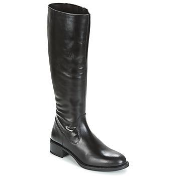 Zapatos Mujer Botas urbanas Unisa EDUCA Negro