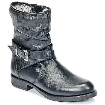 Zapatos Niña Botas de caña baja Unisa GADIN Negro