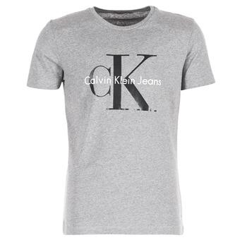 textil Hombre camisetas manga corta Calvin Klein Jeans TEE RE-ISSUE CN REGULAR FIT TEE SS Gris