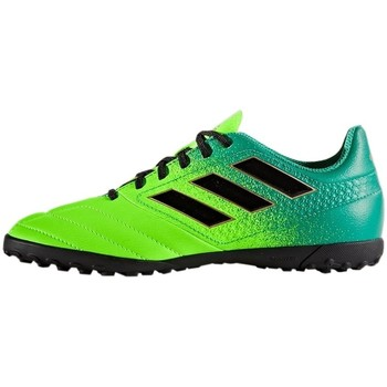 Zapatos Niños Derbie & Richelieu adidas Originals Ace 174 TF J Negros,Verdes