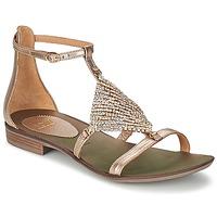Zapatos Mujer Sandalias Now BRENTA Champaña