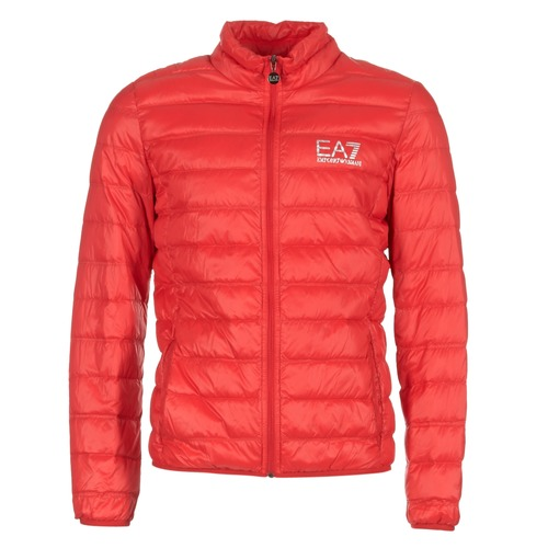Emporio Armani EA7 TRAIN CORE ID DOWN LIGHT JKT Rojo - Envío gratis | ! - textil plumas Hombre
