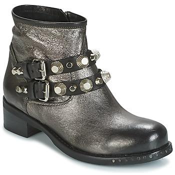 Zapatos Mujer Botas de caña baja Mimmu BERLO Plateado