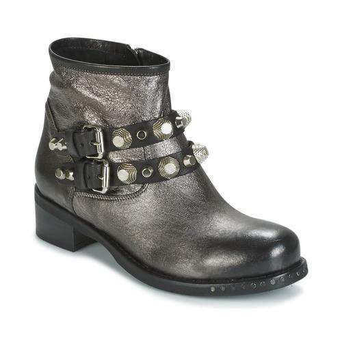 Casual salvaje Zapatos especiales Mimmu BERLO Plateado