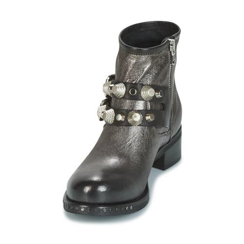 Mujer De Mimmu Botas Berlo Caña Plateado Zapatos Baja rdCoeQWxB