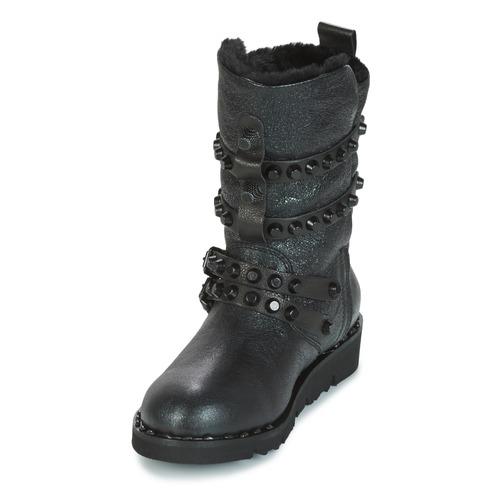 Negro Zapatos Mujer Botas Mimmu Bella Nieve De f7vbyY6g