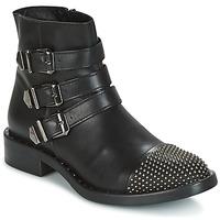 Zapatos Mujer Botas de caña baja Meline PESCINO Negro