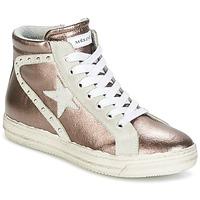 Zapatos Mujer Zapatillas altas Meline POLARE Bronce