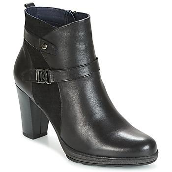 Zapatos Mujer Botines Dorking REINA Negro