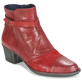 Zapatos Mujer Botines Dorking DALMA Rojo
