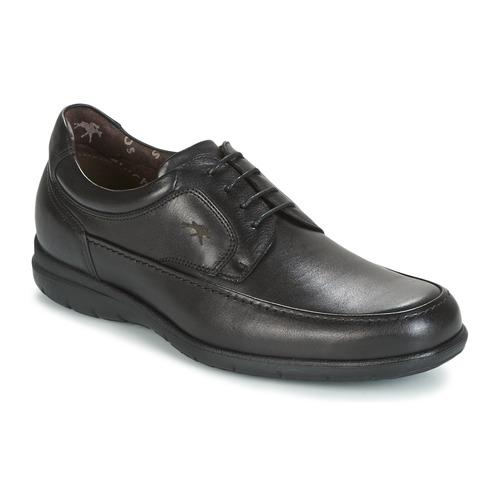 Zapatos especiales para hombres y mujeres Fluchos LUCA Negro
