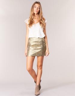 textil Mujer Faldas See U Soon FASOU Oro