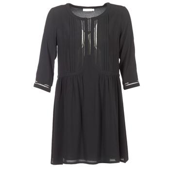 textil Mujer vestidos cortos See U Soon PODI Negro