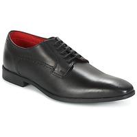 Zapatos Hombre Richelieu Base London PENNY Negro