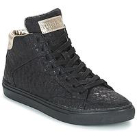 Zapatos Mujer Zapatillas altas Replay HALL Negro