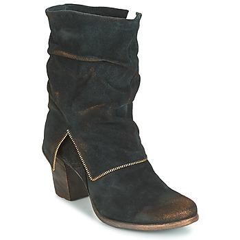 Zapatos Mujer Botas urbanas Papucei JAYNA Negro