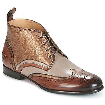Zapatos Mujer Botas de caña baja Melvin & Hamilton SALLY 16 DORADO