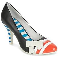 Zapatos Mujer Zapatos de tacón Lola Ramona STILETTO Negro / Naranja / Blanco