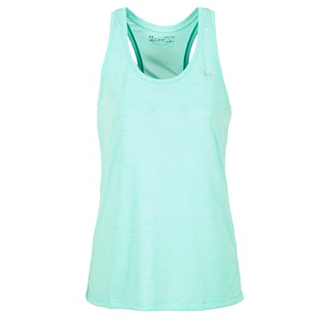 textil Mujer camisetas sin mangas Under Armour TECH TANK - SOLID Verde