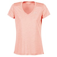 textil Mujer camisetas manga corta Under Armour TECH SSV - TWIST Coral