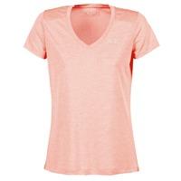 textil Mujer camisetas manga corta Under Armour TECH SSV - TWIST Coral