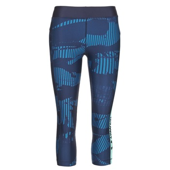 textil Mujer leggings Under Armour UA HG ARMOUR GRAPHIC CAPRI Azul