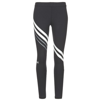 textil Mujer leggings Under Armour FAVORITE LEGGING ENGINEERED Negro / Blanco