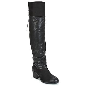 Zapatos Mujer Botas a la rodilla Mjus SHAGGY Negro