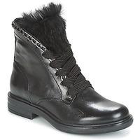 Zapatos Mujer Botas de caña baja Mjus CAFE LACE Negro