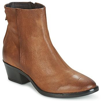 Zapatos Mujer Botas de caña baja Mjus FRESNO ZIP Marrón