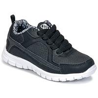 Zapatos Niño Zapatillas bajas Freegun FG VINO Negro