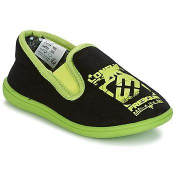 Zapatos Niño Pantuflas Freegun FG NADAM Negro