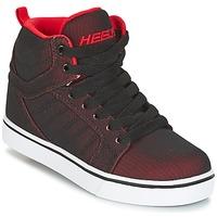 Zapatos Niño Zapatos con ruedas Heelys UPTOWN Negro / Rojo