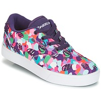 Zapatos Niña Zapatos con ruedas Heelys LAUNCH Violeta / Multicolor