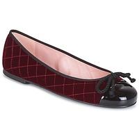 Zapatos Mujer Botines Pretty Ballerinas  Burdeo
