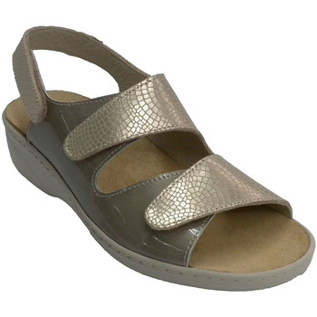 Zapatos Mujer Sandalias Confort Class 121 SIN gris