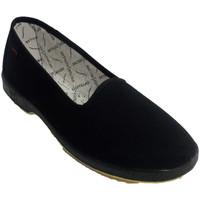 Zapatos Mujer Pantuflas Doctor Cutillas Zapatilla mujer plana especial personas negro