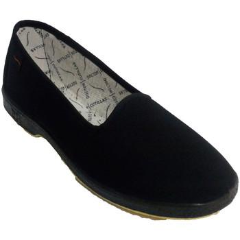 Zapatos Mujer Pantuflas Doctor Cutillas Zapatilla mujer plana especial personas mayores negro
