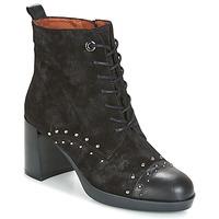 Zapatos Mujer Botines Hispanitas DREW 17 Negro