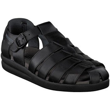Zapatos Hombre Sandalias Mephisto SAM Negro