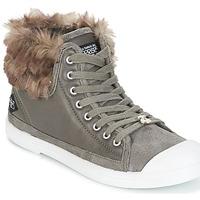 Zapatos Mujer Zapatillas altas Le Temps des Cerises BASIC 03 Gris