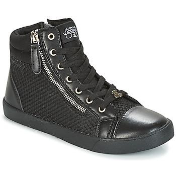 Zapatos Mujer Zapatillas altas Le Temps des Cerises KIM Negro