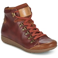 Zapatos Mujer Zapatillas altas Pikolinos LISBOA W67 Marrón